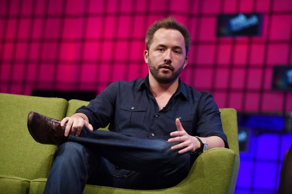 Drew Houston hat am renommierten Massachusetts Institute of Technology (MIT) studiert. (Bild: Flickr-Web Summit / CC-BY 2.0)