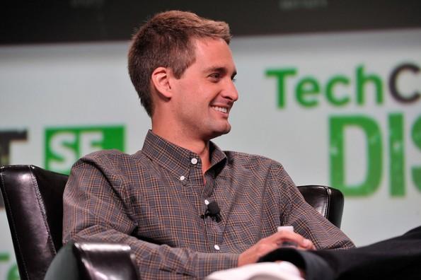 Evan Spiegel hat ein Übernahmeangebot von Mark Zuckerberg ausgeschlagen. (Bild: Flickr-TechCrunch / CC-BY 2.0)