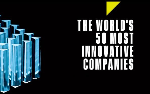Hier sind sie! FastCo's 50 innovativste Unternehmen der Welt! (Screenshot: FastCompany)