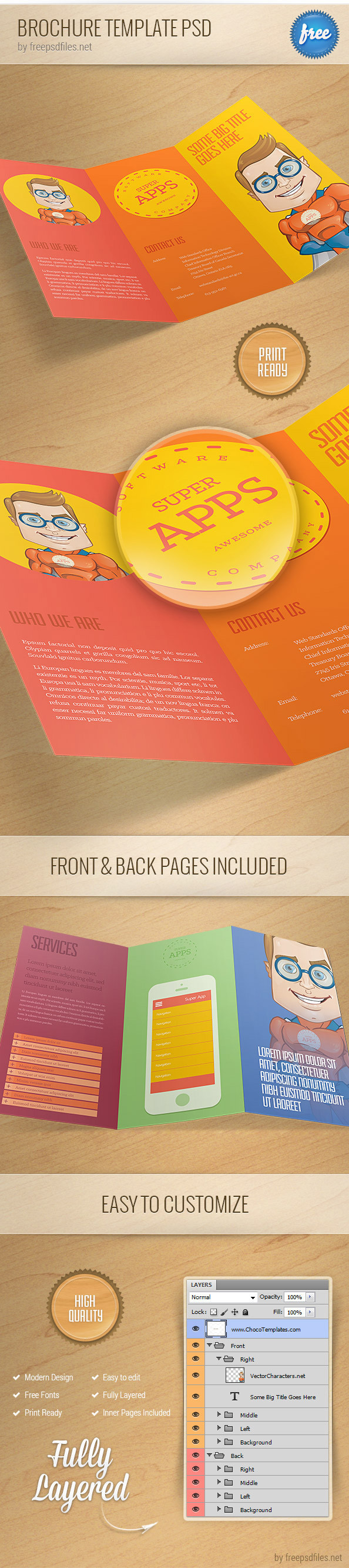 Brochure_Template_PSD_1_Preview - Visitenkarten