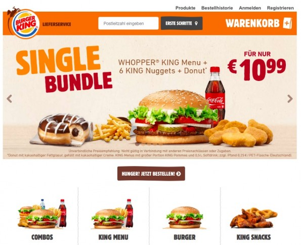 (Screenshot: Burger King)