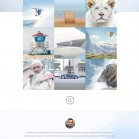 Freelance photographer theme - Freebie PSD - Web-Templates