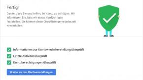 2 GB Drive-Speicher geschenkt: Google-Sicherheits-Check machen und Gratis-Speicher abstauben