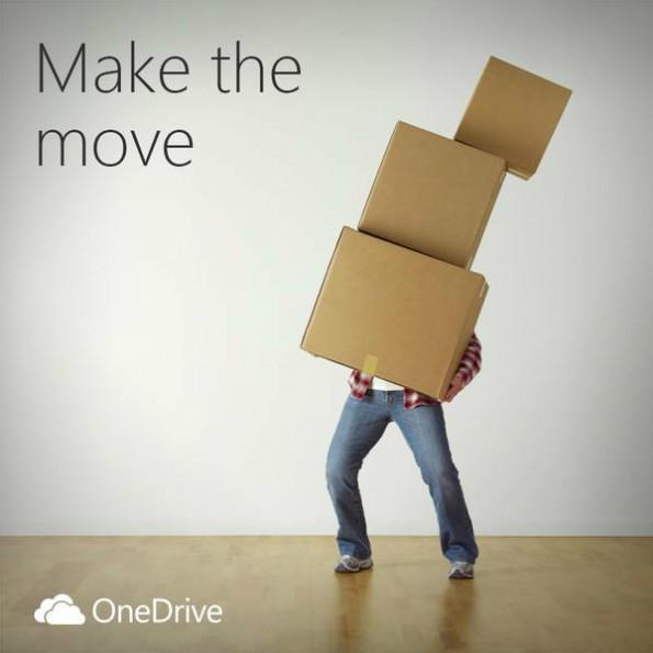 Microsoft will Dropbox-Nutzer zum Wechsel zu OneDrive bewegen. (Foto: Microsoft)