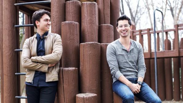 Zusammen mit David Byttow (links) hat Chrys-Bader-Wechseler (rechts) Secret gegründet. Jetzt verlässt er das Startup. (Foto: Secret)