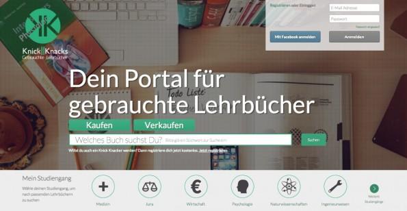Dank StartupBrett zum SZ-Online-Artikel? Zeitlich fallen die Veröffentlichung des Startups Knick Knacks auf dem Portal und die dpa-Meldung jedenfalls zusammen. (Screenshot: Knick Knacks)