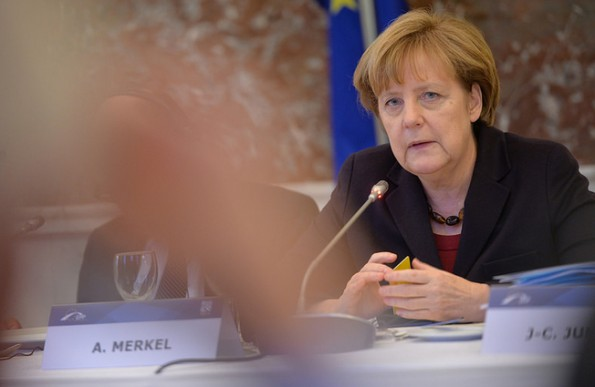 Nein zur Netzneutralität? Bundeskanzlerin Angela Merkel plädierte 2014 offen für Spezialdienste.  (Foto: European's People Party / Flickr Lizenz: CC BY 2.0)