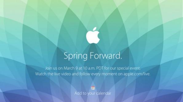 Die Apple Watch-Präsentation am 9. März wird live im Netz übertragen. (Bild: Apple)