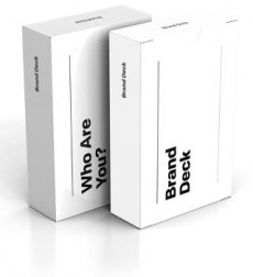 Brand Deck hilft die Markenmerkmale zu bestimmten. (Screenshot: Kickstarter)