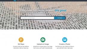 Mit Commits.io erstellst du aus deinem Code ein geekiges Büro-Plakat