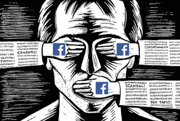 Zensur auf Facebook: Meinungsfreiheit hört da auf, wo das Geschäft bedroht wird. (Grafik: IsaacMao / flickr.com, Lizenz: CC-BY-2.0)