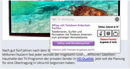 In Beiträge von Usern werden InText-Ads von Vibrant gesetzt. Im Bezug auf den Gesamtumsatz spielen diese aber nur eine geringe Rolle. (Bild: onlinemarketingrockstars.de)
