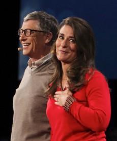 Spenden als Lebensaufgabe: Bill und Melinda Gates führen das Wohltäter-Ranking mit großem Abstand an. #FLICKR#