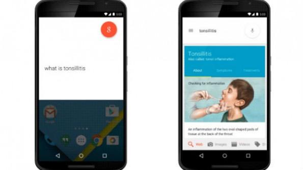 Google zeigt in der Ergebnisliste künftig Informationen zu Erkrankungen an. (Bild: Google)