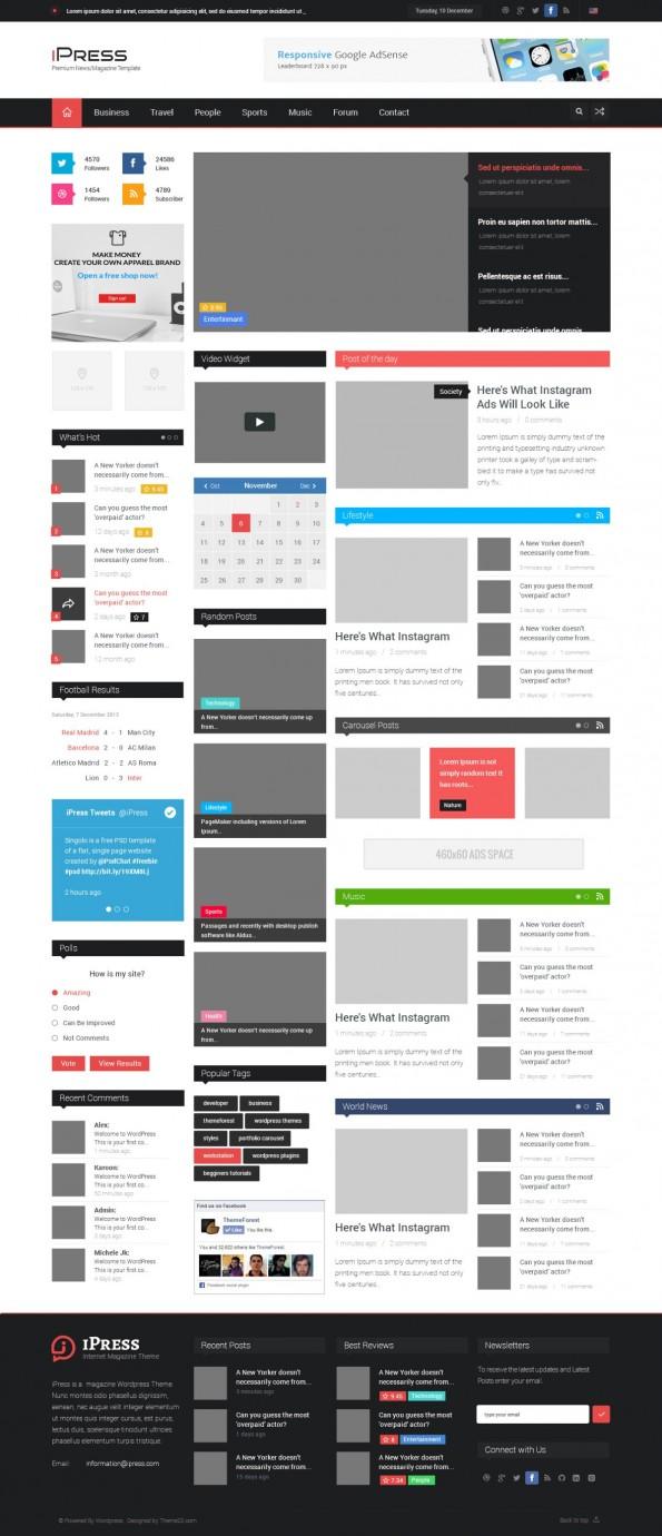Atemberaubend Kostenlose Blog Vorlagen Fotos - Beispiel Business ...