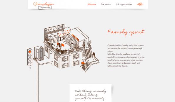 Eine Karriereseite zum Verlieben. Hauptsache, man liest auch die Informationen am Rand der Illustrationen. (Screenshot: t3n)