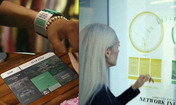 Das Video Productivity Vision zeigt, wie Menschen in fünf bis zehn Jahren arbeiten könnten. (Foto: Microsoft)