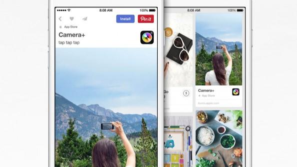 Pinterest präsentiert iOS-Apps künftig prominenter. (Bild: Pinterest)