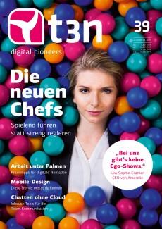 So sieht es aus: Das fertige Cover der t3n Nr. 39. (Foto: Kevin Münkel, Grafik: Jan Heidemann)