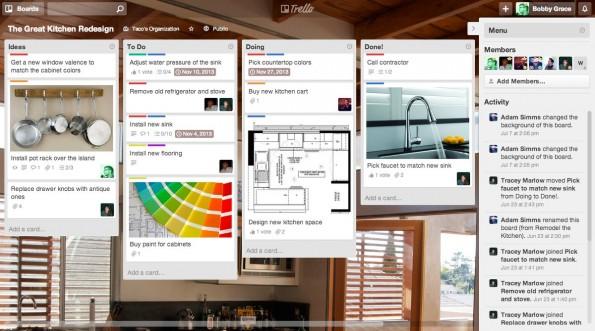 Trello ist eine praktische Lösung zum Projektmanagement. (Screenshot: Trello)