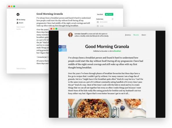 Typed.com: Die responsive Blogging-Plattform unterstützt Markdown-Syntax und kollaboratives Arbeiten. (Screenshots: Realmac)