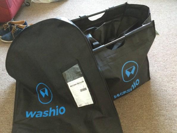 In diesen Beuteln erhielt ich binnen 48 Stunden einen halben Koffer frisch gewaschener und gebügelter Wäsche zurück. (Foto: t3n)