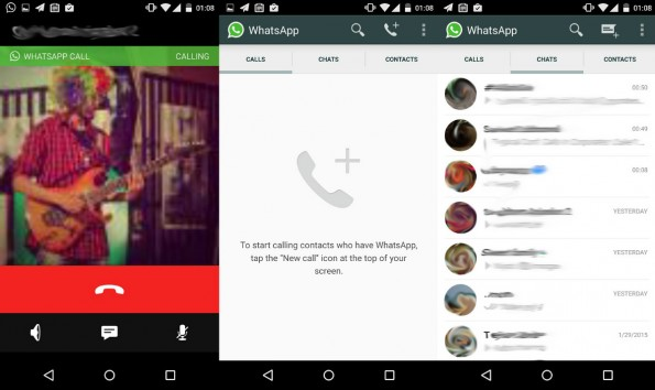 WhatsApp Calls: So könnte Telefonieren via WhatsApp aussehen. (Screenshot: reddit.com/pradnesh07)