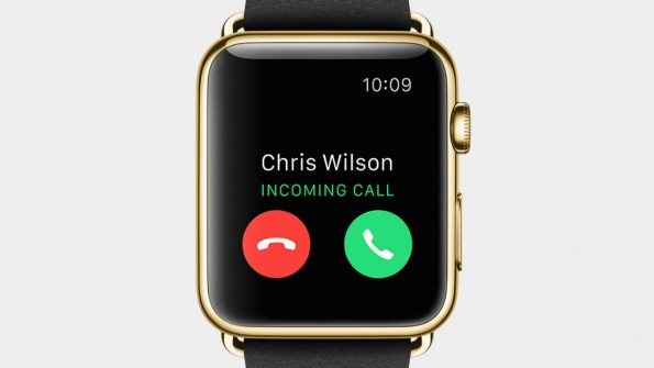 Die Apple Watch kann auch telefonieren. (Screenshot: Apple)