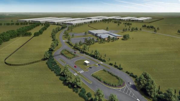 So soll Apples neues Rechenzentrum in Dänemark aussehen. (Bild: Apple)