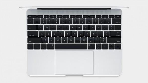 Das neue MacBook von Apple ist in jeder Hinsicht kleiner und leichter als sein Vorgänger. (Foto: Apple)