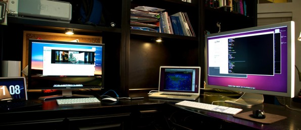 Wer mehrere Monitore in Serie schalten will, sollte auch auf die Anschlussmöglichkeiten achten. (Foto: flickr / Travis Isaacs)