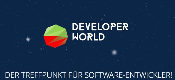 Zum Treffpunkt und Marktplatz der Softwareentwickler wird die Developer-World in Halle 1. (Screenshot: Developer-World)