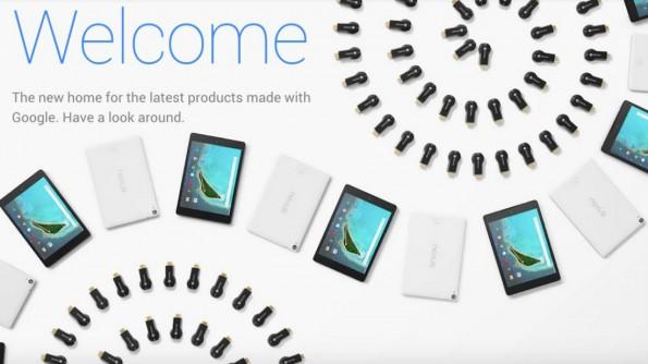 Im Google Store verkauft der Konzern Google-unterstützte Hardware. (Bild: Screenshot)