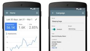 Anzeigen per Smartphone verwalten: Google stellt AdWords-App für Android vor