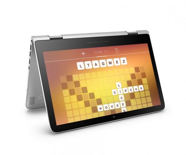 Edel und vielseitig: HP stellt das Spectre x360 vor. (Foto: HP)