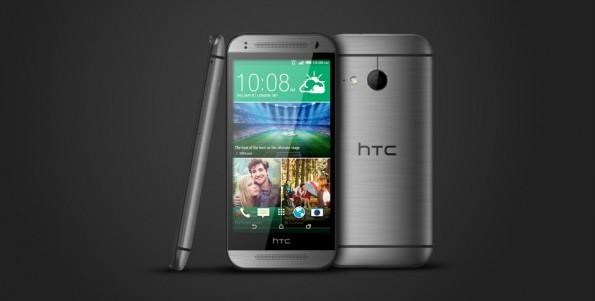 Wie das normale HTC One M8 hat auch das kleinere One mini 2 ein schickes Metall-Gehäuse. (Bild: HTC)