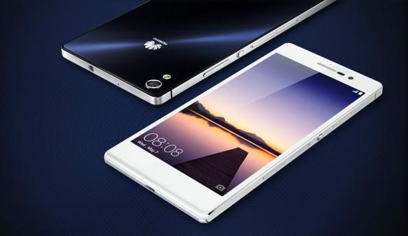Mittelklassse aus dem Hause Huawei: Das Ascend P7. (Bild: Huawei)