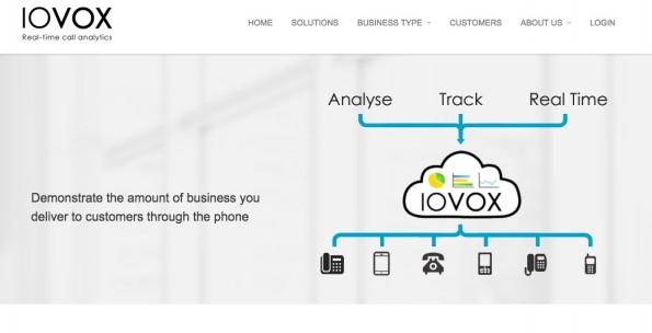 (Screenshot: iovox.com)