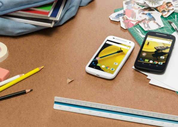 Klein aber fein: Das neue Motorola Moto E. (Foto: Motorola)