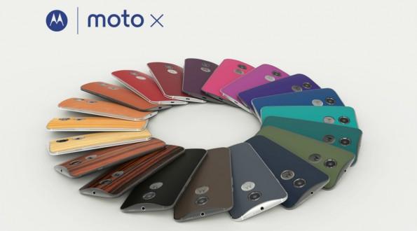 Dank des Moto-Makers können Käufer sich ihr Motorola Moto X individualisieren. (Bild: Motorla)