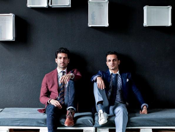 Für netzaktiv beantworteten die beiden Gründer Zahir Dehnadi (rechts) und Bahman Nedaei (links) Fragen rund um ihren Online-Shop (Foto: © Ira Weinrauch)