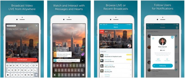 Periscope: Twitter stellte eigene Meerkat-Alternative vor. (Screenshot: iTunes)