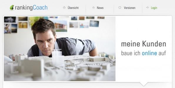 (Screenshot: rankingcoach.com)