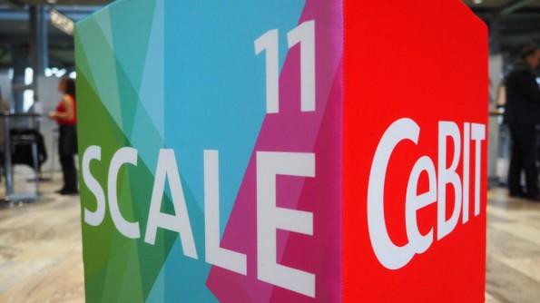 Scale11, der Ort, an dem Startups sich der Öffentlichkeit zeigen können. (Bild: Deutsche Messe)