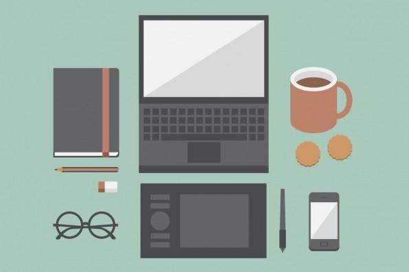 Du willst deinem Chef imponieren? Nutze Social Media bei der Arbeit – oft. (Grafik: Shutterstock / Dooder)
