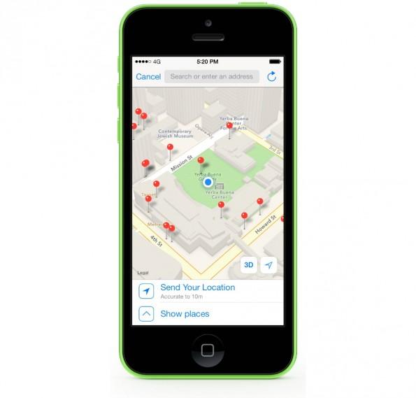 Ihr könnt per WhatsApp auch euren Standort mit Freunden und Bekannten teilen. (Grafik: WhatsApp)