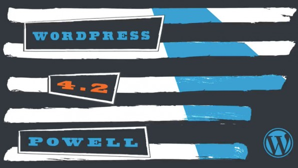 "WordPress 4.2 ""Powell"" ist da – das ist neu. (Grafik: WordPress.org)"