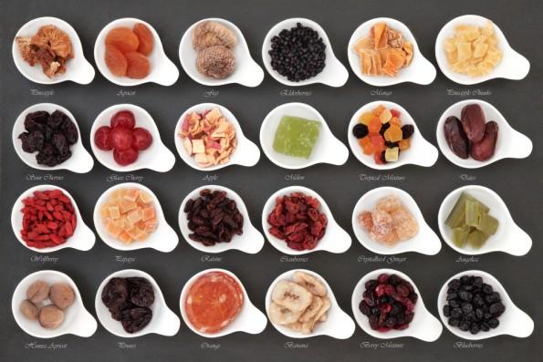 Trockenfruechte Snacks Buero