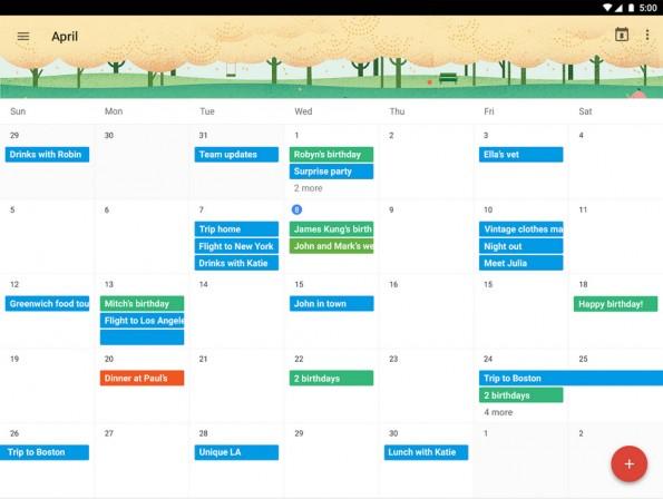 sinnvolle Kalender-App für