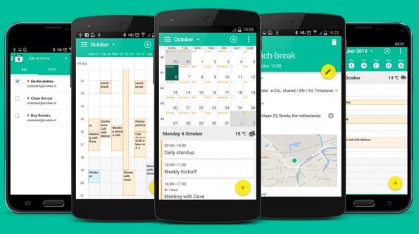 Kalender-Apps für Android: Wave unterstützt Smartphones, Tablets und Wearables. (Grafik: Wave)